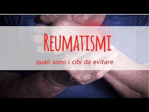reumatismi: quali sono i cibi da evitare?