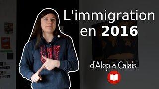 Les chiffres de l'immigration en 2016 (d'Alep à Calais - 23/01/2017)