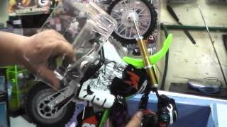 UNBOXING MY PSYCHO CYCLE - DIRT BIKE MAX TECH MOTORCYCLE STUNT RC With Mega Stunt Ramp