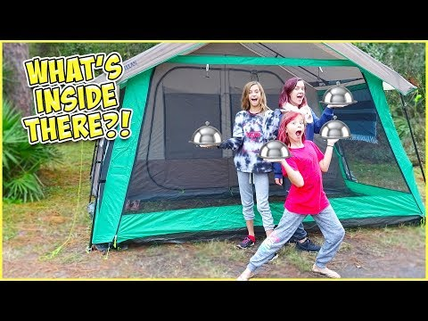 Video GETTING ROOM SERVICE DELIVERED TO OUR TENT!! download in MP3, 3GP, MP4, WEBM, AVI, FLV January 2017