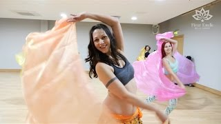 Download Lagu Beginners Veils Belly Dance at Fleur Estelle Dance School Mp3