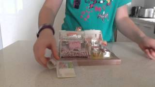 UK Girls Bedroom Set Sylvanian Families 5032 Unboxing - Sylvanian Cooking with B  シルバニアファミリー