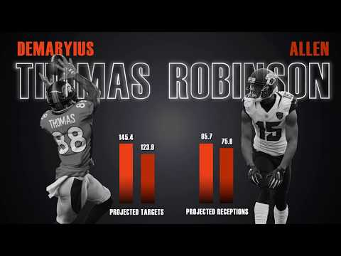 Demaryius Thomas vs Allen Robinson Fantasy Comparison