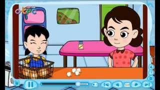 สื่อการเรียนการสอน Dinner at home (อาหารค่ำที่บ้าน) ป.3 ภาษาอังกฤษ