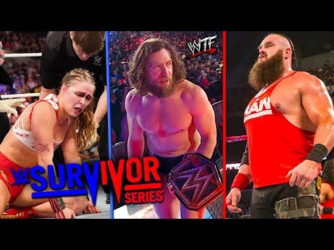 DOUBLE HEEL TURN & SmackDown Gets BURIED By RAW | WWE Survivor Series 11/18/18 Full Show Review