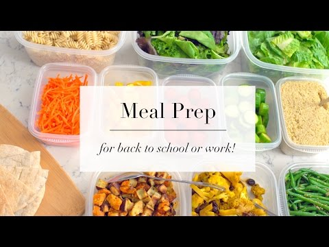 How To Meal Prep for Beginners | EASY RECIPE PLAN | ANN LE