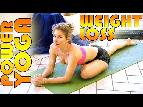 Beginners Power Yoga For Weight Loss – Total Body Workout – 45 Minute Yoga Class