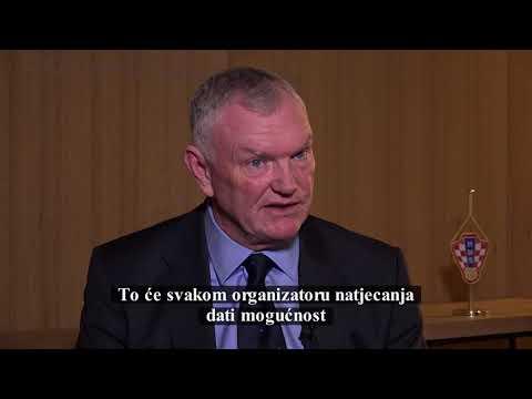 Intervju s predsjednikom Engleskog nogometnog saveza Gregom Clarkeom za HNTV