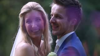 Tranen op de bruiloft van Ron en Willemijn