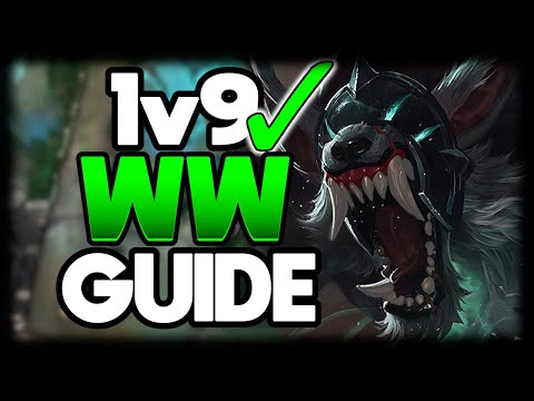 Learn to DOMINATE with WARWICK | HOW TO WARWICK JUNGLE 1v9 FOR BEGINNERS - League of Legends