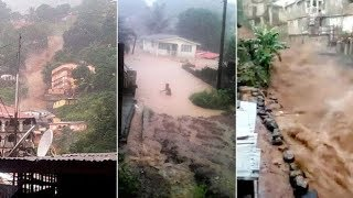Heavy rain triggered deadly mudslides and flooding in Sierra Leone. Get the latest headlines: http://www.telegraph.co.uk/ ...