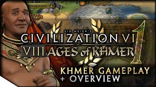 Video Khmer Gameplay, YnAMP Terra Map & 8 AGES OF PACE | Civilization VI — 8 Ages of Khmer | Terra Emperor MP3, 3GP, MP4, WEBM, AVI, FLV Maret 2018