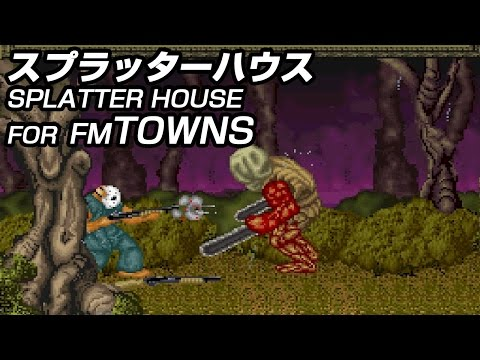 FM TOWNS スプラッターハウス [1080p60fps] / Splatter House