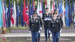 Schweinfurt Germany  City pictures : Scenes from US Army Schweinfurt Closure Ceremony -- Sept 19, 2014