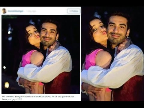 how Mohit Sehgal Thanked His Fans For Their Wishes