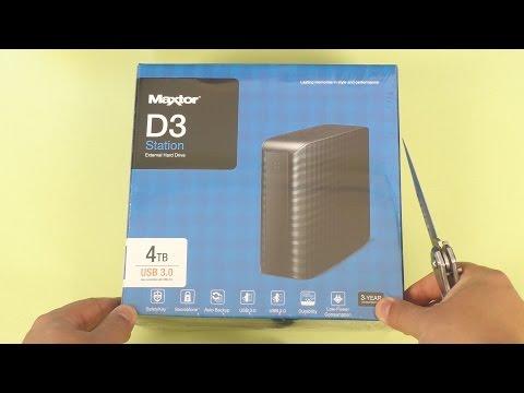 ВНЕШНИЙ HDD MAXTOR D3 Station 4Tb (SEAGATE / Samsung) ► РАСПАКОВКА, ОБЗОР, ТЕСТЫ