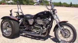 6. Used 2006 Harley Davidson Sportster 1200 Trike Motorcycles for sale
