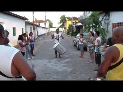 Ensaio Samba união Racional em Sete Barras para Carnaval 2012