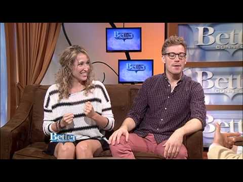 Courtney Balan joins Barrett Foa, June 27, 2013