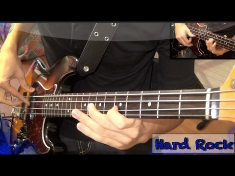 hardrock - The funk machine has crashed! New video! It's an hard rock bass solo, i hope you'll like this and don't forget to comment and rate! The bass is a Fender Jazz...