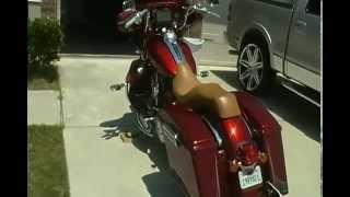 7. 2009 Harley Street Glide Music Sound System w/o Engine on
