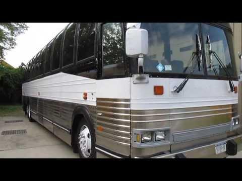 1990 Prevost Coach For Sale~49 Passenger Tour Bus~Bathroom~Entertainment~SUPER CLEAN!!