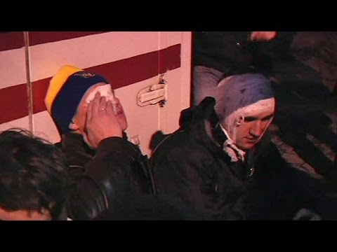 Ukraine: violent clashes outside presidential administration building - no comment