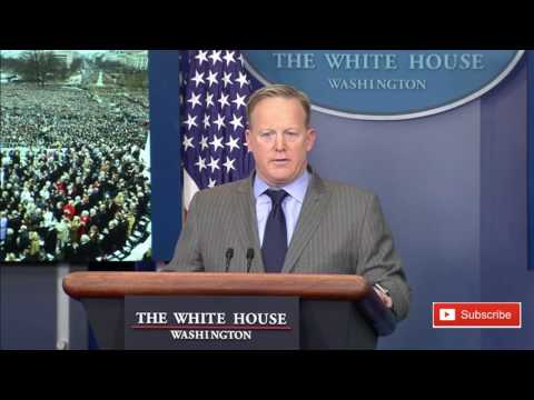 New White House Press Secretary Sean Spicer to Deliver Statement 12/11/7 ✔