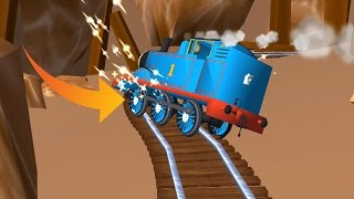 Thomas and Friends: Magical Tracks - Train Catch Fire Very Dangerous & Protection