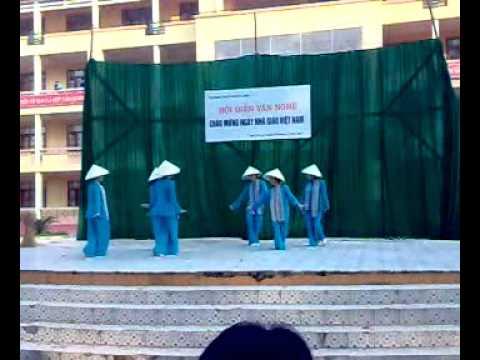Múa Quê Tôi - A6K64 trường THPT Ngô Sĩ Liên - BG