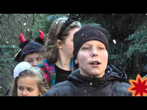 """""""Різдвяний вертеп"""". Учні Рівненської ЗОШ №25"""