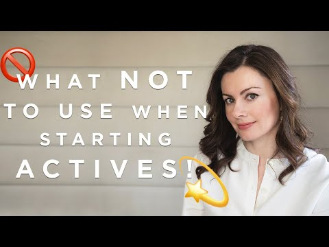 What NOT To Use When Starting Actives! | Dr Sam Bunting