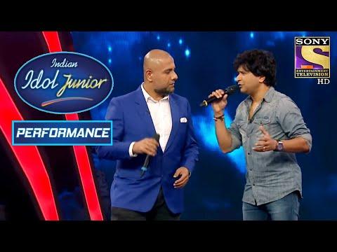 Vishal And KK's Fabulous Performance On 'Tu Aashiqui Hai'! | Indian Idol Junior 2