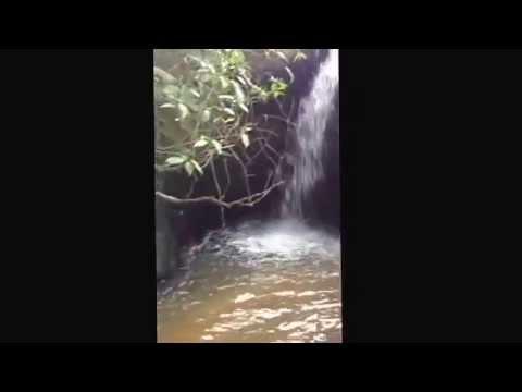 Cachoeira em Anitapolis SC