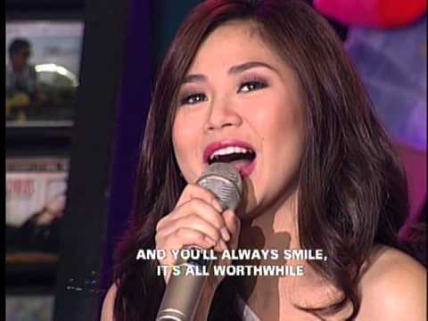 Sarah Geronimo sings 'I Won't Last A Day Without You' on ASAP