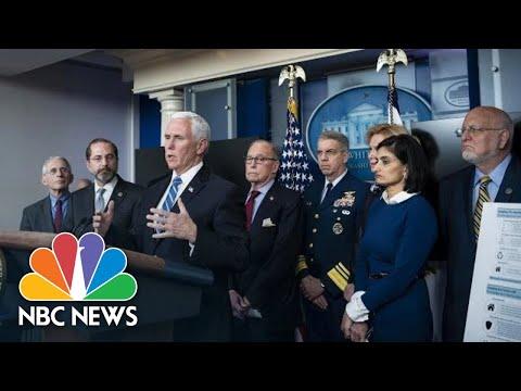 White House Coronavirus Task Force Holds Briefing   NBC News