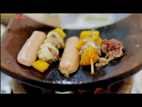 Nướng Ngói Zô Zô - Quán ăn ngon Vũng Tàu