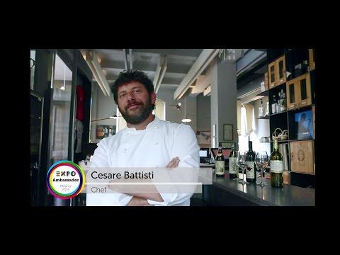 Expo Milano 2015 Chef Ambassador Cesare Battisti