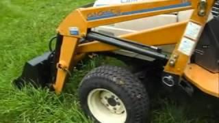 3. Cub Cadet 7200 Diesel 4x4 Hydro Garden Tractor