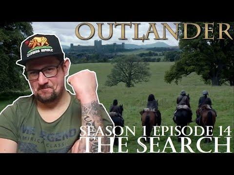 Outlander season 1 episode 14 'The Search' REACTION