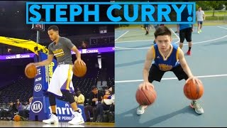 NBA SIGNATURE MOVES 7 - Stephen Curry's Most Amazing Moves! | Fung Bros