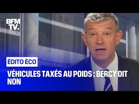 Véhicules taxés au poids : Bercy dit non