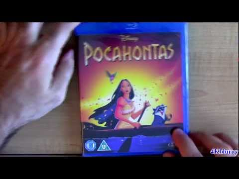 POCAHONTAS Blu-ray Unboxing Review Walt Disney From UK