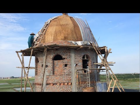 Innovative Construction Techniques Made From Amazing Brick And Mortar // Beautiful Circular Houses