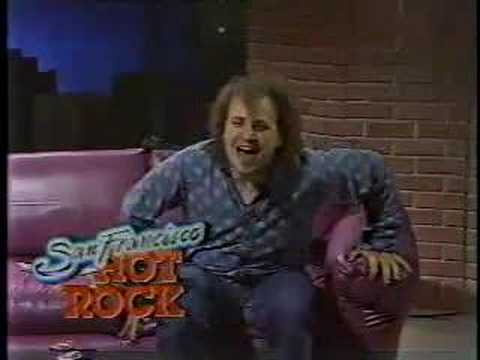 Bobcat Goldthwait Hosts Local S.F. Music Show (1984)