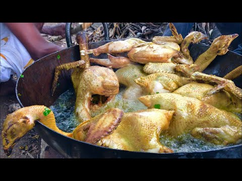 COUNTRY CHICKEN FRY !!! Classic Fry Prepared By My Daddy ARUMUGAM / Village Food Factory