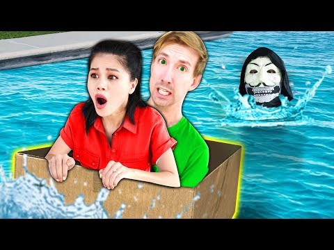 LAST TO SINK WINS $10,000 CHALLENGE (DIY BOAT vs Hacker PZ9 Reveals Safe House to Project Zorgo)
