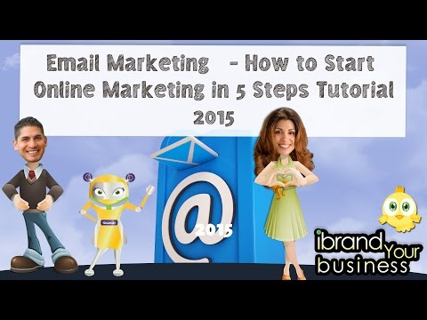 Email Marketing   - How to Start Online Marketing in 5 Steps Tutorial 2015