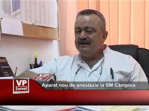 Aparat nou de anestezie la SM Câmpina