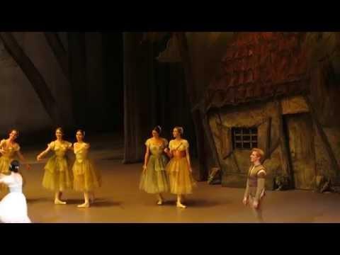 Giselle(1) - Natalia Osipova, Steven McRae, Bolshoi 28.02.15.